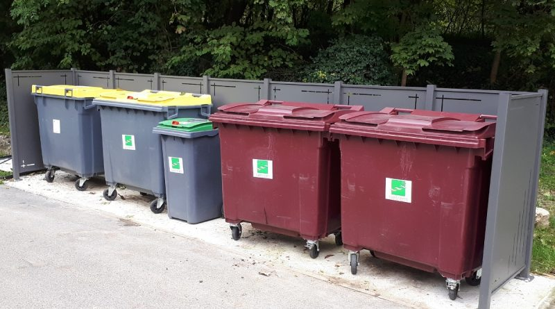 abris poubelle